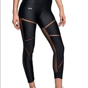 NWT Under Armour cropped leggings activewear